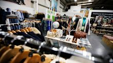 Oxfam opens 'superstore' with vintage and designer items on sale