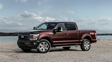 2018 Ford F-150 lineup including prices, pictures, mileage, and new features