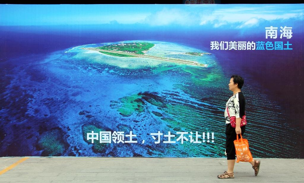 Beijing claims almost all of the South China Sea despite partial counter-claims from the Philippines, Vietnam, Malaysia and Taiwan (AFP Photo/Str)