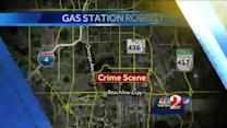 Gas station smash-and-grab caught on camera