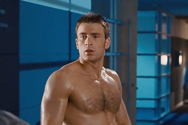 60 Sexiest Seconds Of Chris Evans Captain Naked America Video