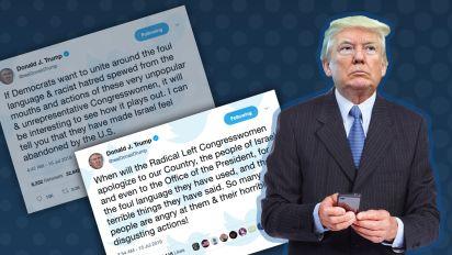 Trump demands apology from congresswomen