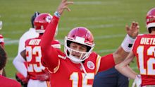 Chiefs QB Patrick Mahomes named top AFC Offensive Player for November