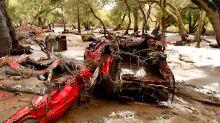Crews scramble to find CA mudslide survivors, Northrop Grumman blamed for lost spy satellite, NASA to cleanup space junk