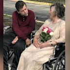 Nursing home couple finds love in the age of COVID-19