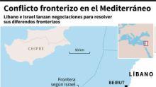 Líbano e Israel iniciaron dos días de discusiones por su frontera marítima