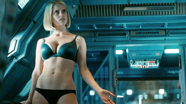 Alice Eve In the new New Star Trek Into Darkness Trailer