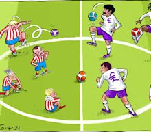 Politics latest news:Boris Johnsonwarns 'no action is off the table' over European Super League