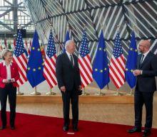 Quoting Irish poet, Biden ends EU trade war in renewal of transatlantic ties