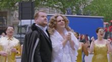 Josh Gad Returns to Save James Corden's Latest 'Crosswalk the Musical' (Video)