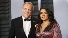 Salma Hayek responds to rumors she married her billionaire husband 'for the money'
