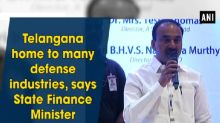 Telangana home to many defense industries, says State Finance Minister