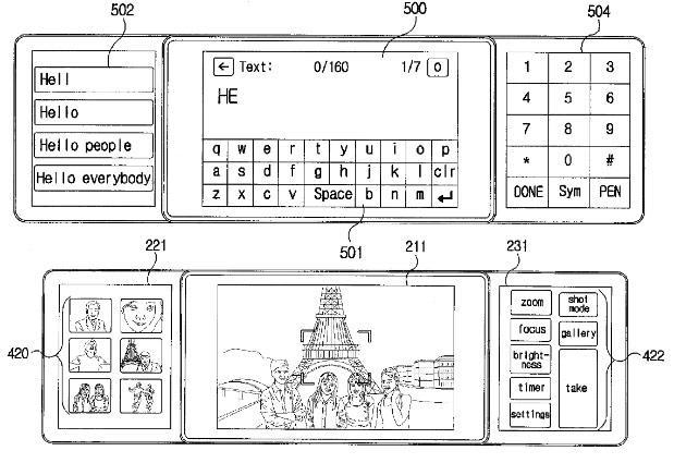 LG issued patent for the 2010-era tri-screen smartphone that never was