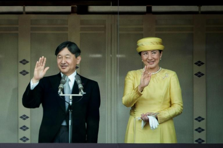 Emperor Naruhito wed Masako Owada in 1993, with his new wife leaving behind a promising diplomatic career (AFP Photo/Behrouz MEHRI)