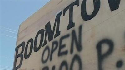 Boomtown Reopens After Storm