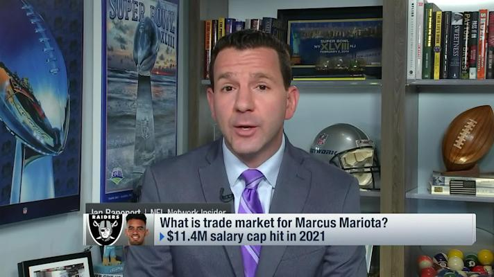 Rapoport details why Mariota's trade market has 'dried up significantly'