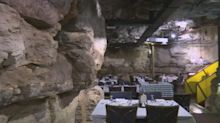 Sixty-million-year-old cave turned into restaurant