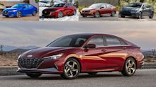 2021 Hyundai Elantra vs. compact sedans | How they compare on paper