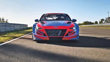 2020北京車展報導:現代汽車推出TCR國際房車賽規格的全新戰馬Elantra N TCR