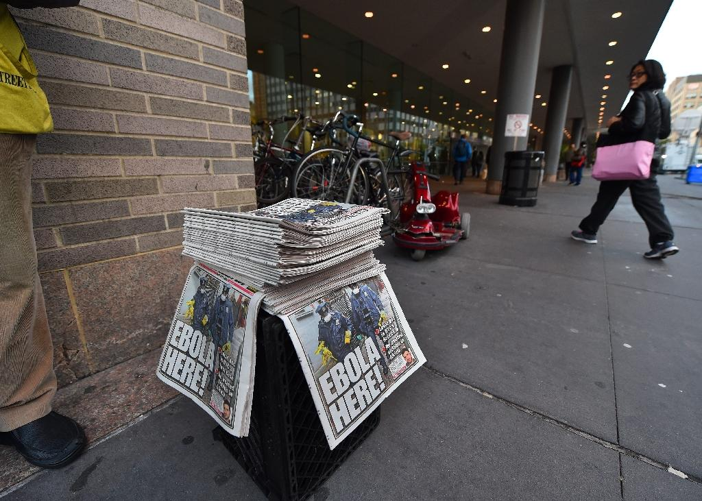 A survey this year by the American Press Institute showed 77 of the 98 US newspapers with circulations above 50,000 used some type of online subscription (AFP Photo/Timothy A. Clary)