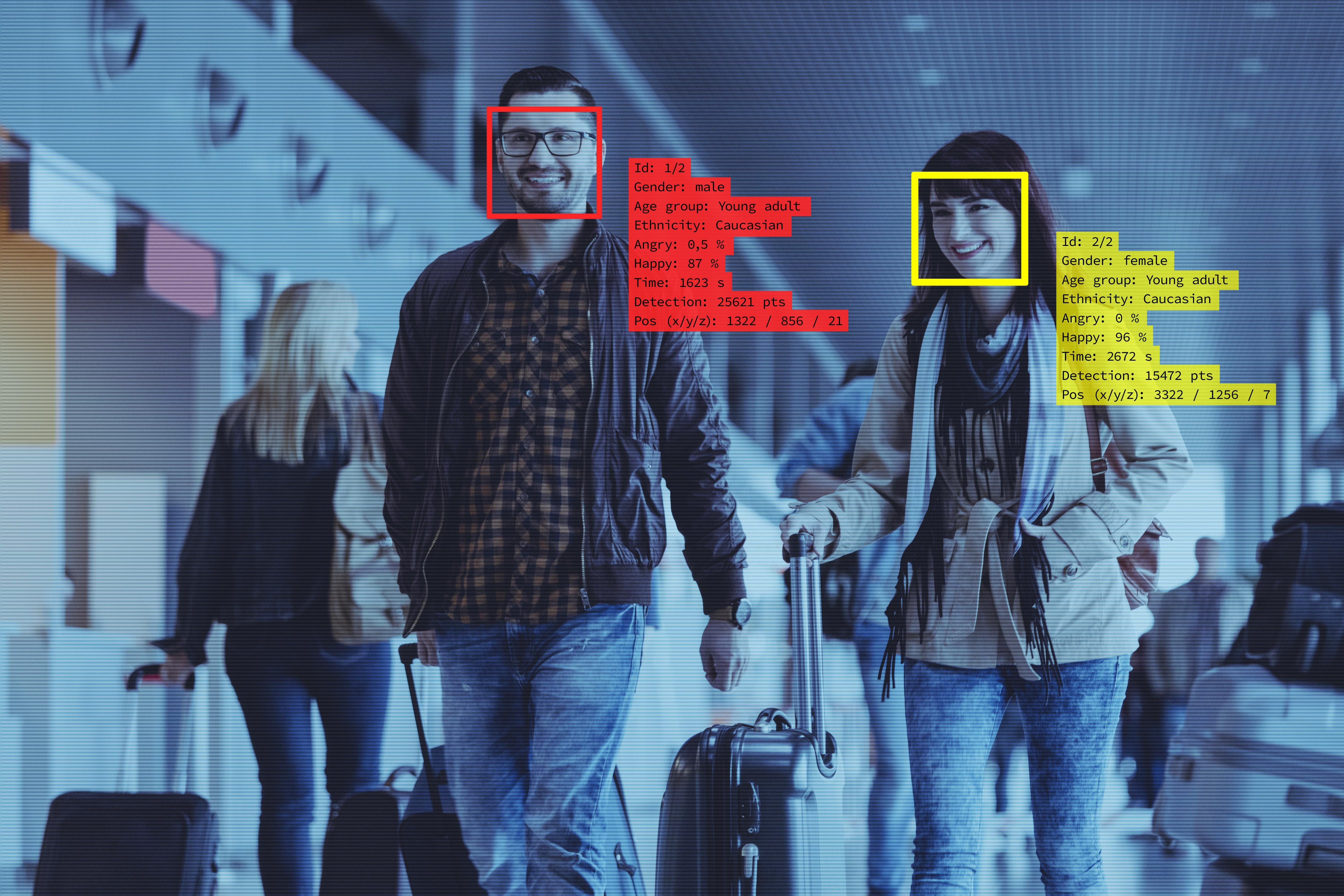 How facial recognition technology is changing the U S  airport experience