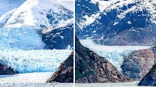 Alarming photos show melting glaciers several years apart