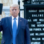 D.C. bishop 'outraged' Trump used tear gas on citizens for photo op at church