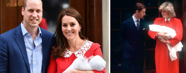 Kate Middleton's subtle maternity nod to Diana red dress Jenny Packham