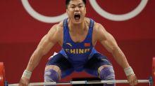 China's Lyu wins 81kg weightlifting gold