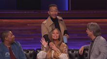 John Legend catches Chrissy Teigen flirting with 'Bring the Funny' contestant
