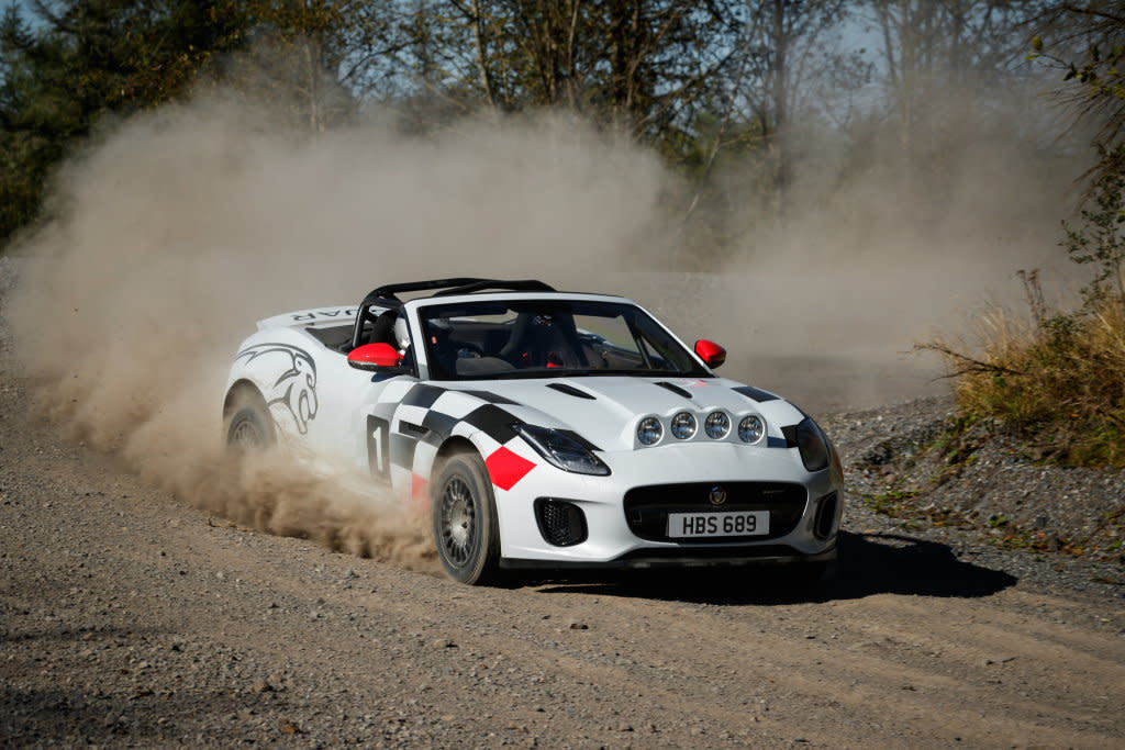 70周年獻禮!JAGUAR推F-Type Rally Car向越野賽事致敬