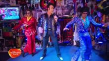 Larry and Kylie learn to dance like Elvis