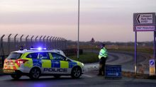 Shots fired by U.S. military personnel to stop man forcing entry onto British base