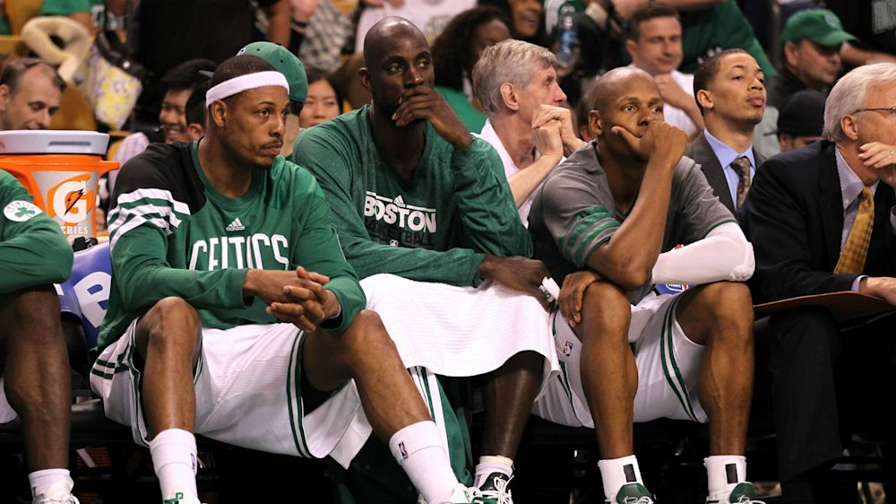 Kevin Garnett's inspirational message spurs Celtics to victory