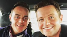 'The boys are back in town!': Ant and Dec pictured together again