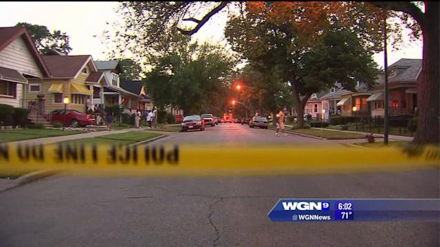 5-year-old shot on Chicago`s South Side