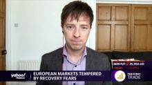 European markets tempered by recovery fears