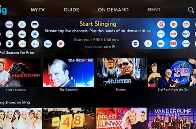 Sling TV's free streaming comes to Android and Amazon devices