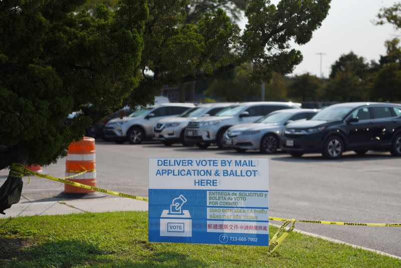 Texas Supreme Court rejects top Republicans' request to shorten early voting period