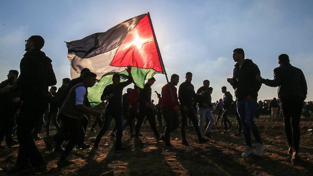 Palestinians have been staging weekly protests along the Gaza-Israel armistice line since March last year (AFP Photo/Said KHATIB)