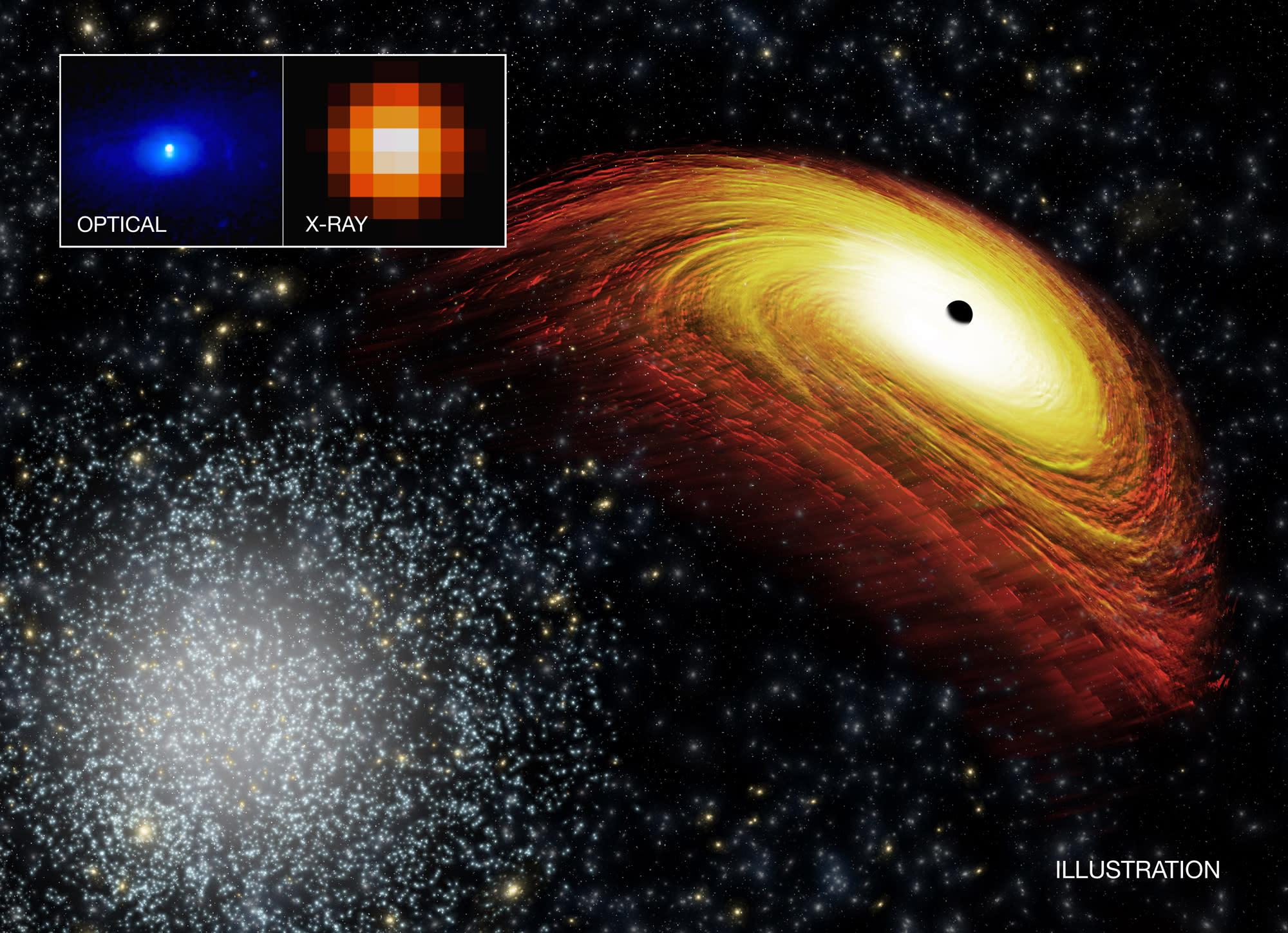 nasa finds black hole - 1092×707