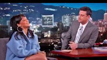 Rihanna Threw A Party in Jimmy Kimmel's Bed