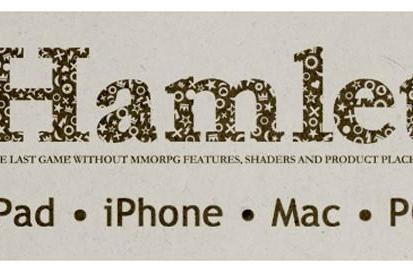 Hamlet: The Game coming to iPad, iPhone and Mac