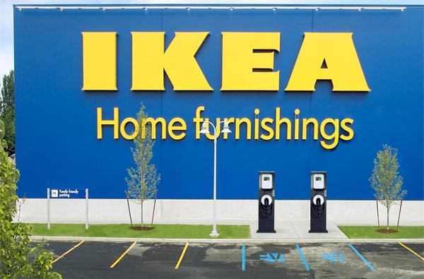 Select IKEA stores to host Blink electric vehicle charging stations, Volts now suitable for furniture pickup