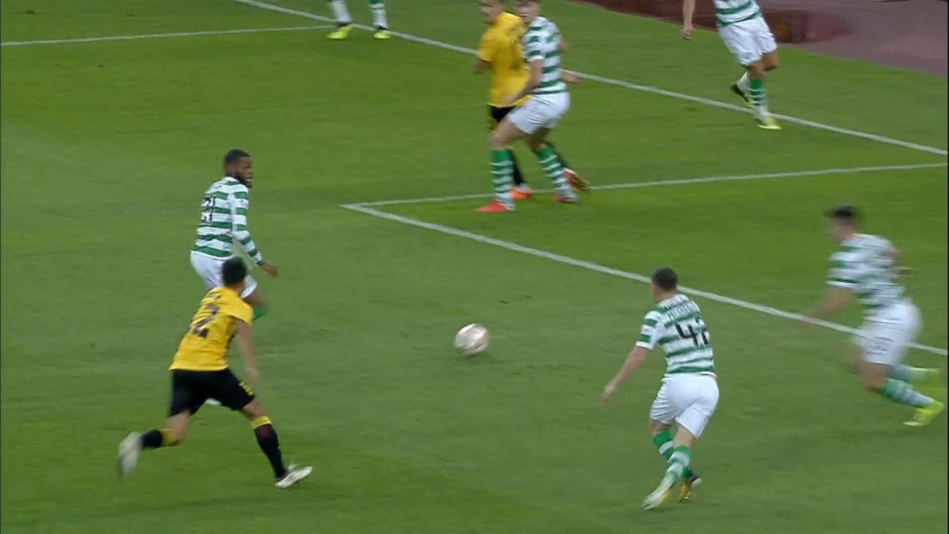 AEK Athens 2-1 Celtic (AEK Athens win 3-2 on aggregate)