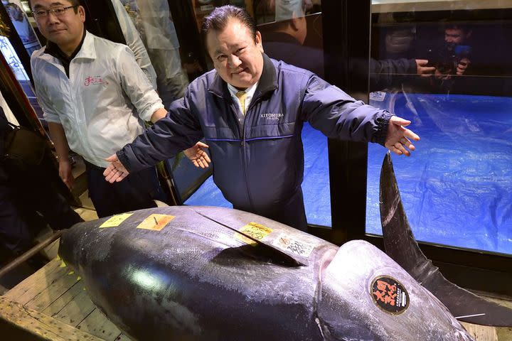 Man purchases $3.1 million tuna, has some ... regrets