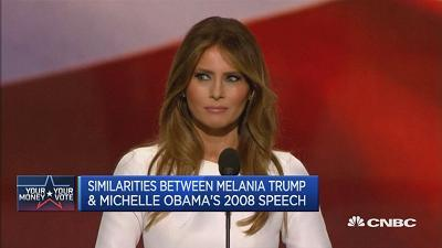 Looks like Melania Trump really did rip off Michelle Obama's speech