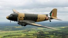 1940's vintage Dakota DC-3 aircraft soon to be inducted into Indian Air Force