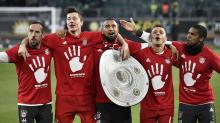 Bayern Munich wins fifth-straight Bundesliga title after rout vs. Wolfsburg
