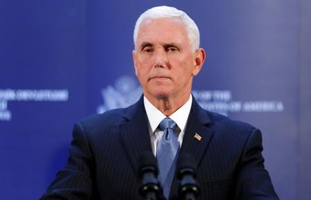 U.S. V.P. Pence to deliver China policy speech next Thursday: official